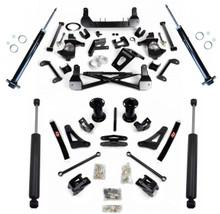 """2015-2020 GM SUV W/O Auto Ride  7-9"""" Adjustable Complete Cognito Lift Kit"""
