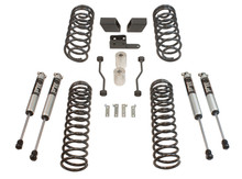 "2018-2020 Jeep Wrangler JL 4wd 3"" Coil Lift Kit  W/ FOX Shocks - MaxTrac K949832F"