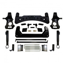 "2019-2020 Chevy & GMC 1500 4wd AT4/Trail Boss 7"" Full Throttle Lift Kit"