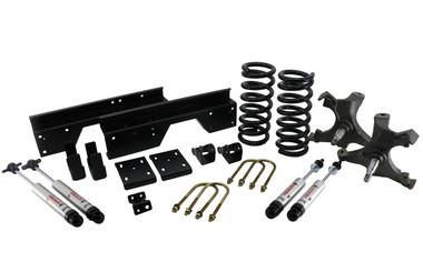 1988-1998 Chevy & GMC 1500 2wd 4/6 Street Grip Drop Kit- Ridetech 11370110