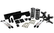 1988-1998 Chevy & GMC 1500 2wd 4/6 Street Grip Drop Kit- Ridetech 11370110