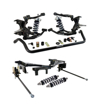 1988-1998 Chevy & GMC 1500 2wd 4/6 Coilover Drop Kit- Ridetech 11370201