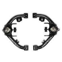 2001-2013 GM 2500 SUV Uniball Tubular Upper Control Arm Kit W/ Dual Shock Mounts - Cognito 110-90292