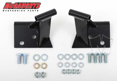 Side Motor Mounts Stock Location 2 Piece Frame 1955-57 Chevy