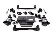 "2011-2019 Chevy & GMC 2500HD/3500HD 4wd 4""-6"" Lift Non-Torsion Drop Front Kit - Cognito 110-K0500"
