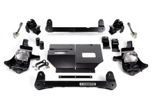 "2011-2019 Chevy & GMC 2500HD/3500HD 2wd 4""-6"" Lift Non-Torsion Drop Front Kit - Cognito 110-K0501"