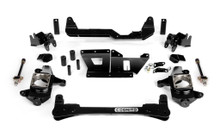 "2001-2010 Chevy & GMC 2500/3500HD 2wd 4""-6"" Lift Non-Torsion Drop Front Kit - Cognito 110-K0503"