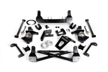 """2014-2018 Chevy & GMC 1500 4wd W/ Cast Steel Arms W/ Stabilitrak 7""""-9"""" Lift Front Suspension Kit - Cognito 110-K0524"""