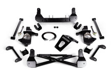 """2014-2018 Chevy & GMC 1500 4wd W/ Cast Steel Arms Non-Stabilitrak 7""""-9"""" Lift Front Suspension Kit - Cognito 110-K0527"""