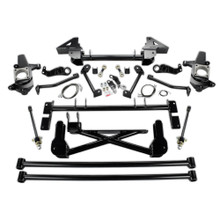 "2011-2019 Chevy & GMC 2500/3500HD 4wd W/ Stabilitrak 7-9"" Lift Front Suspension Kit - Cognito 110-K0532"