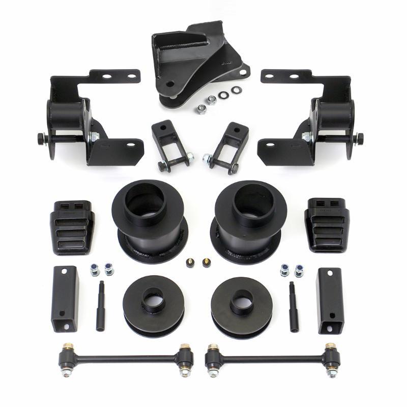 "Black Rear 3/"" Lift Kit Ram 2500 3500 4WD 03-08 Diesel W// Overload Spring"