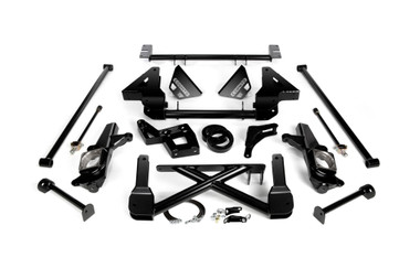 """2001-2007 Chevy & GMC 2500/3500HD 4wd W/ SAE Brakelines 10""""-12"""" Lift Front Suspension Kit - Cognito 110-K0543"""