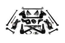 "2007-2010 Chevy & GMC 2500/3500HD 4wd Non-Stabilitrak W/ Metric Brakelines 10""-12"" Lift Front Suspension Kit - Cognito 110-K0544"