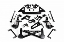 "2011-2019 Chevy & GMC 2500/3500HD 4wd W/ Stabilitrak 10-12"" Lift Front Suspension Kit - Cognito 110-K0560"