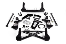 """2007-2016 Chevy & GMC 1500 4wd W/ Stabilitrak W/ Cast Steel Arms 10-12"""" Lift Front Suspension Kit - Cognito 110-K0564"""