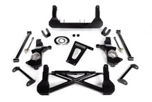 "2007-2016 Chevy & GMC 1500 2wd W/ Stabilitrak W/ Cast Steel Arms 10-12"" Lift Front Suspension Kit - Cognito 110-K0566"