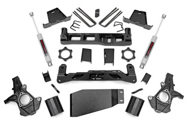 """2007-2013 Chevy & GMC 1500 4wd 7"""" Lift Kit - Rough Country 26430"""