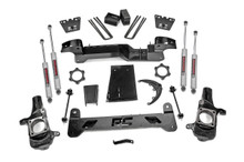 "2001-2010 Chevy & GMC 3500HD & Dually 2wd/4wd 6"" Lift Kit - Rough Country 29730-3"