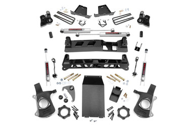 """1999-2006 Chevy & GMC 1500 4wd 6"""" NTD Lift Kit - Rough Country 27220A"""