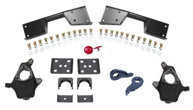"1999-2006 Chevy & GMC 1500 4wd 4/6"" MaxTrac Drop Kit - K330946-4WD"