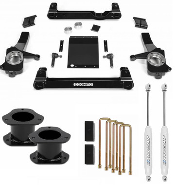 """2019-2020 Chevy & GMC 1500 2wd 4"""" Complete Cognito Lift Kit"""