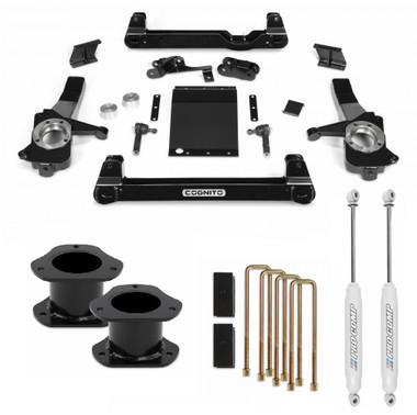 """2019-2020 Chevy & GMC 1500 4wd 4"""" Complete Cognito Lift Kit"""