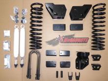"2019-2022 Dodge Ram 3500 W/ 4.5"" Axle 4wd 4"" Basic Lift Kit - McGaughys 54403"