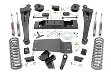 """2019-2021 Dodge Ram 2500 4wd Diesel 5"""" Lift Kit - Rough Country 36030"""