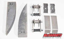 Rear Spring Pocket Kit Pocket Kit 1955-57 Chevy - McGaughys 63216