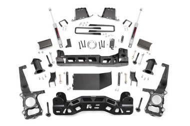 """2011-2014 Ford F-150 4wd 6"""" Lift Kit - Rough Country 57530"""