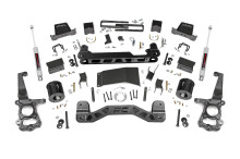 """2015-2020 Ford F-150 4WD 6"""" Lift Kit W/ Rear N3 Shocks - Rough Country 55730"""