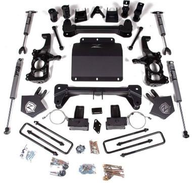 "2020 Chevy & GMC 2500HD/3500HD 5"" Lift Kit W/ FOX Shocks- Zone Offroad C43F"