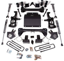 "2020-2021 Chevy & GMC 2500HD/3500HD 5"" Lift Kit W/ FOX Shocks- Zone Offroad C43F"