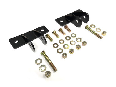 1963-1987 Chevy & GMC C-10 Front Shock Relocation Brackets - React Suspension RSFSRB6387C10