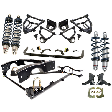 1963-1972 Chevy & GMC C10 2wd 4/6 Coilover Drop Kit- Ridetech 11340201