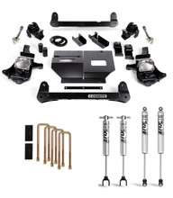 "2011-2019 Chevy & GMC 2500/3500HD 2wd/4wd 4"" Lift Kit W/ FOX Shocks - Cognito 110-P0778"