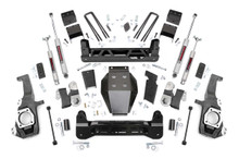 """2020-2022 Chevy & GMC 2500HD 4wd 5"""" Lift Kit - Rough Country 10230"""