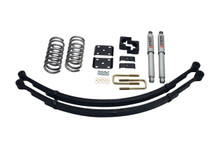 "2004-2015 Nissan Titan 2wd 2/4"" Street Performance Lowering KIt - Belltech 438SP"