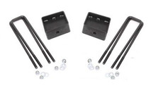 "2020 Chevy & GMC 2500HD 3"" Lift Blocks & U-Bolts - Rough Country 7672"