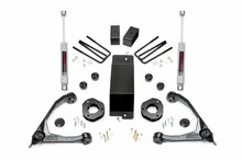 "2007-2013 Chevy & GMC 1500 4wd 3.5"" Lift Kit - Rough Country 19431A"
