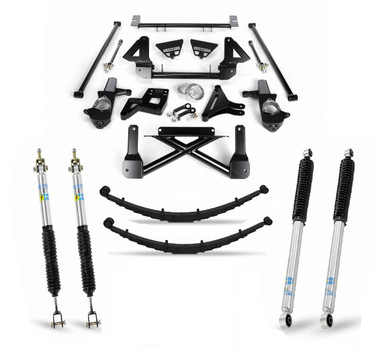"""1999-2006 Chevy & GMC 1500 4wd 10""""-12"""" Complete Cognito Lift Kit"""