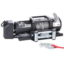 9800lb Trailer Winch w/ Wire Rope & Roller Fairlead Bulldog Winch - 10061
