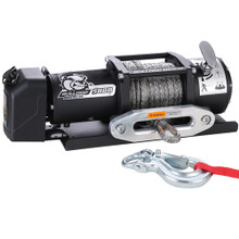 9800lb Trailer Winch w/ Synthetic Rope & Hawse Fairlead Bulldog Winch - 10062