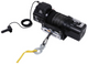 16500lb Heavy-duty Steel Winch w/ Roller Fairlead and Synthetic Rope - Bulldog Winch 10058