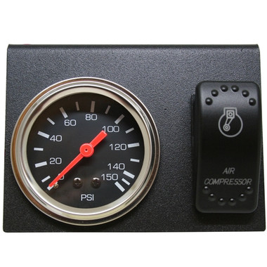 Air Pressure Gauge, Switch, and Mounting Bracket Assembly - BDW-42057