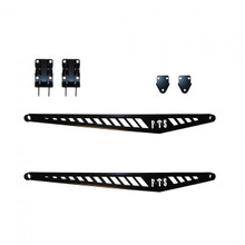 2020-2022 Chevy & GMC 2500/3500HD Long bed Fabricated Rear Traction Bars - Full Throttle