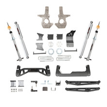 """2014-2018 GM 1500 2/4wd  W/ Alum & Stamped Arms 7-9"""" Adjustable Lift Kit - Belltech 150203TP"""