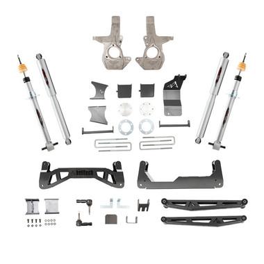"2007-2016 GM 1500 2wd/4wd W/ Cast Steel Arms 7-9"" Adjustable Lift Kit - Belltech 150201TP"