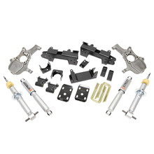 "2019-2021 Chevy & GMC 1500 4wd 4/6"" Drop Kit - Belltech 1041SP"