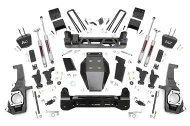 """2011-2019 GM 2500/3500HD 2wd/4wd Torsion Drop  7.5"""" Lift Kit - Rough Country 10430"""